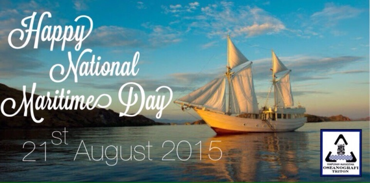 Happy National Maritime Day 2015